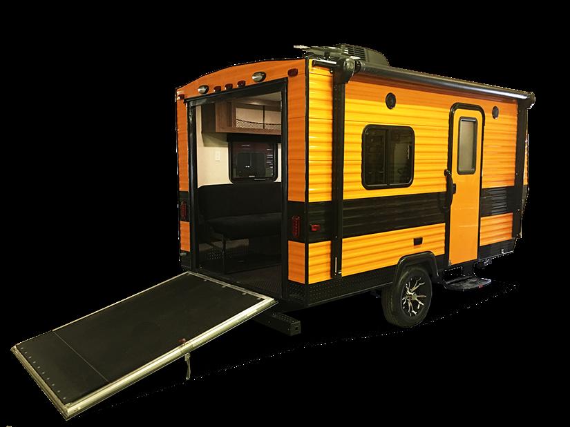 Forest River RV XLR Nitro Toy Hauler Travel Trailer ...